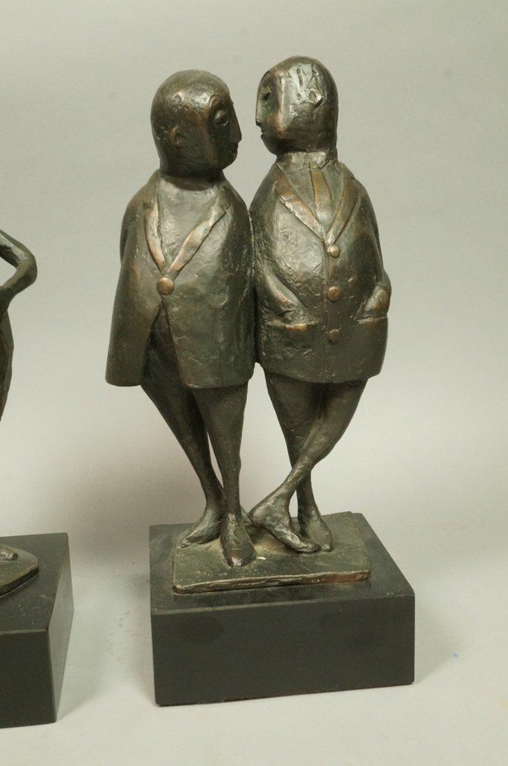 Lot 3 Bronze Figural Sculptures. CLIVIA MORRISON. - 4
