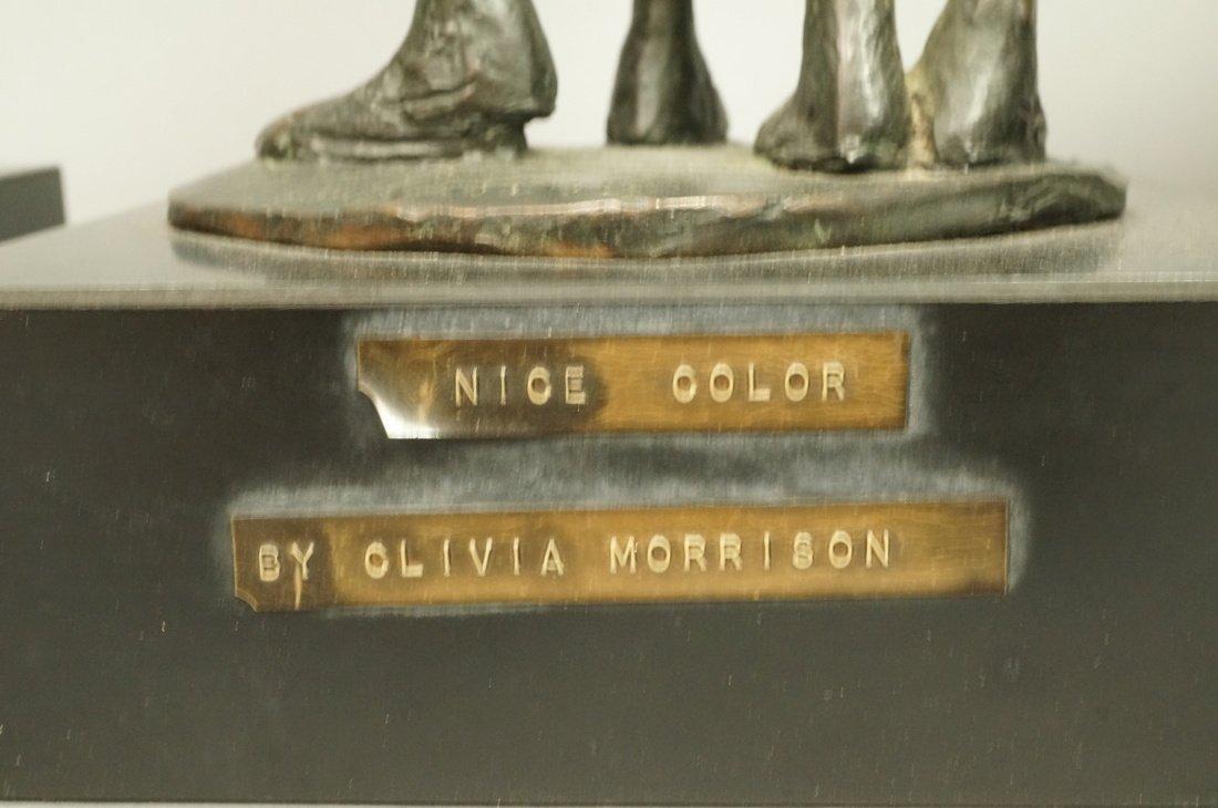 Lot 3 Bronze Figural Sculptures. CLIVIA MORRISON. - 6