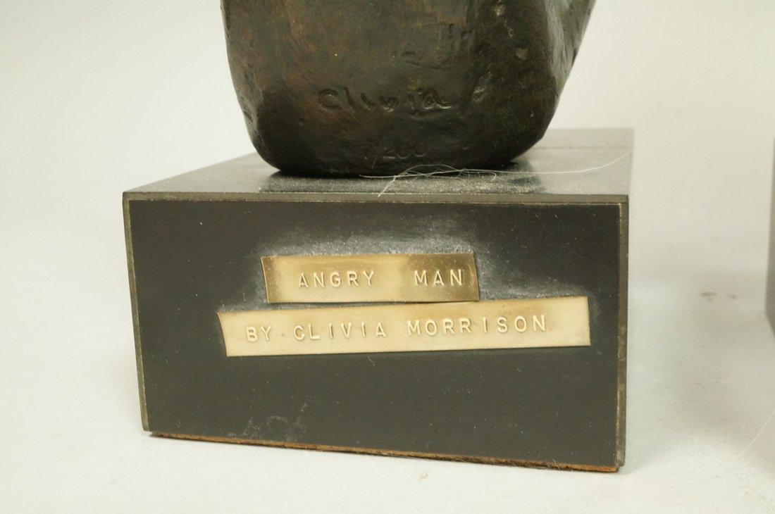 Lot 3 Bronze Figural Sculptures. CLIVIA MORRISON. - 7