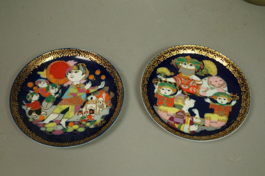 5pc Modernist Ceramic Lot. 1&2) 2pcs ROSENTHAL by - 2