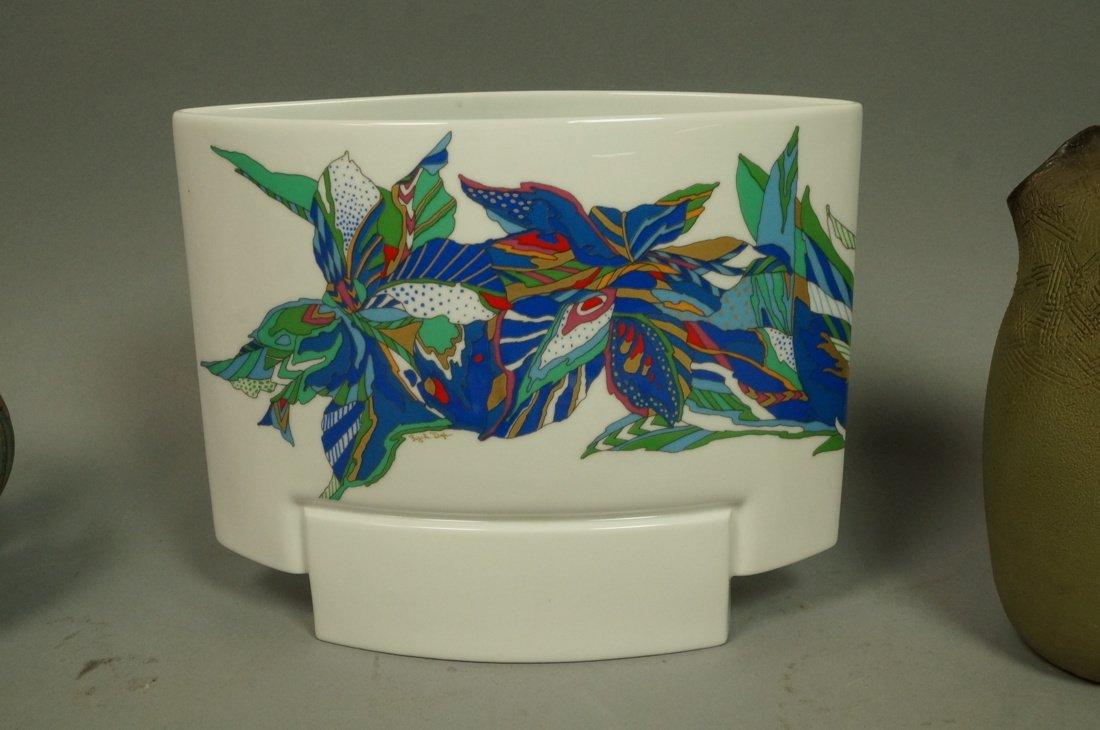 5pc Modernist Ceramic Lot. 1&2) 2pcs ROSENTHAL by - 4