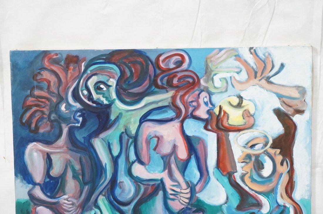 GEORGE CONRAD Modernist Oil Painting. Nude standi - 2