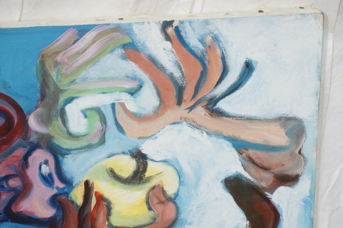 GEORGE CONRAD Modernist Oil Painting. Nude standi - 5