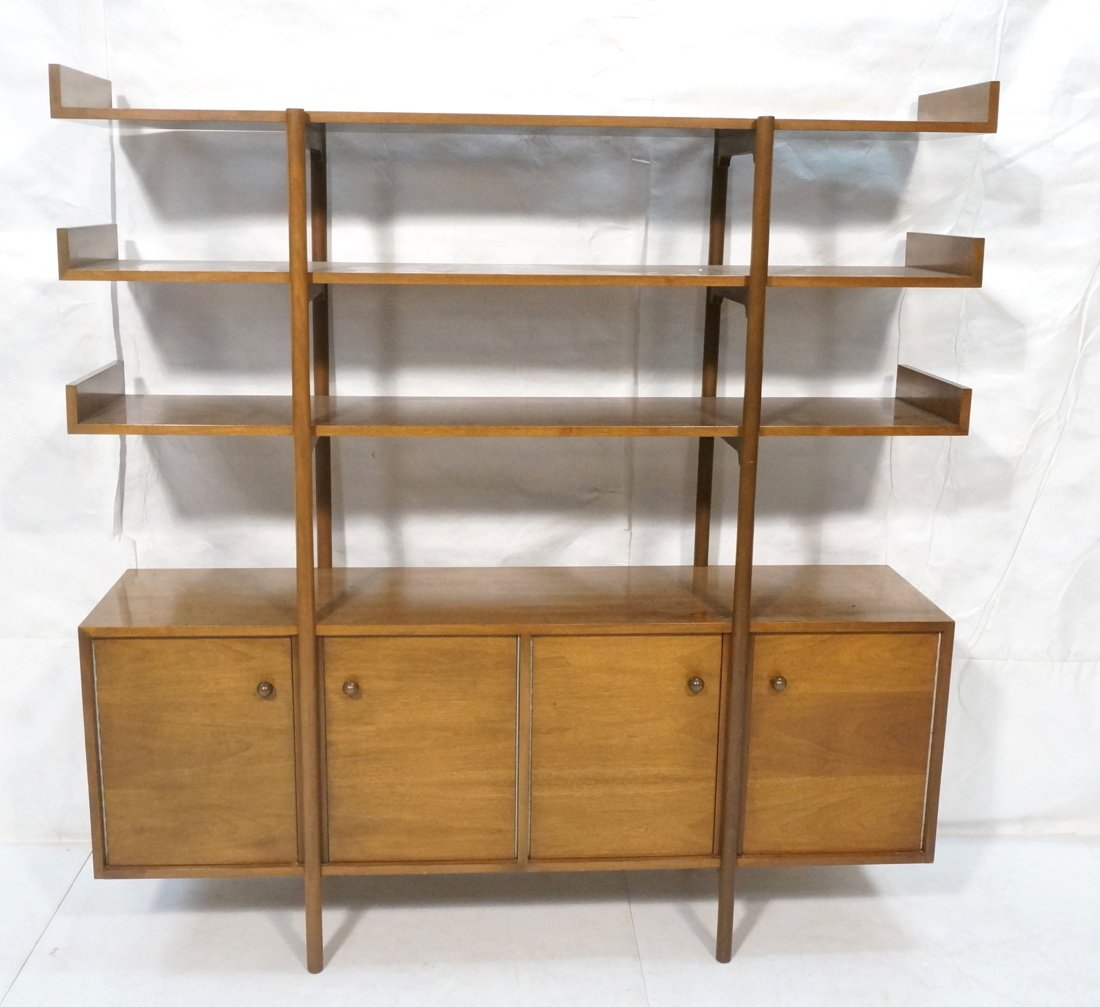DUNBAR style Open Shelf Etagere Display Unit. Thr