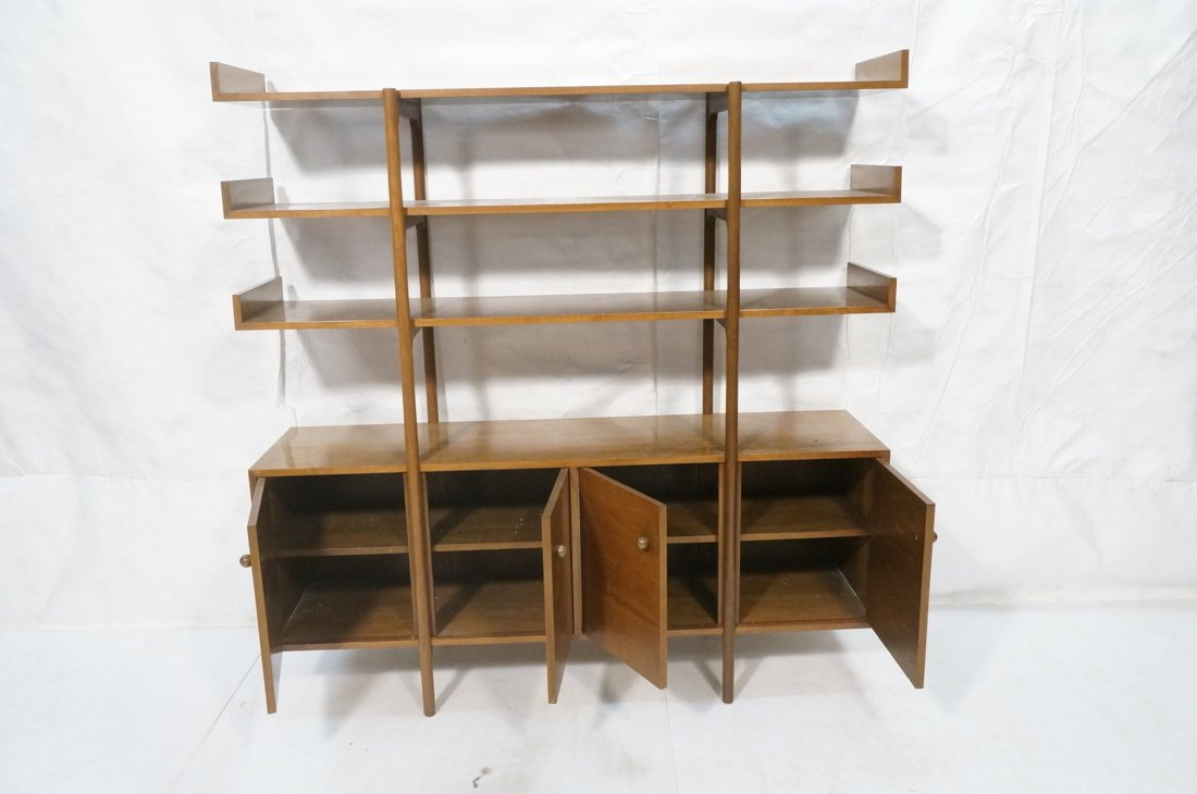 DUNBAR style Open Shelf Etagere Display Unit. Thr - 2