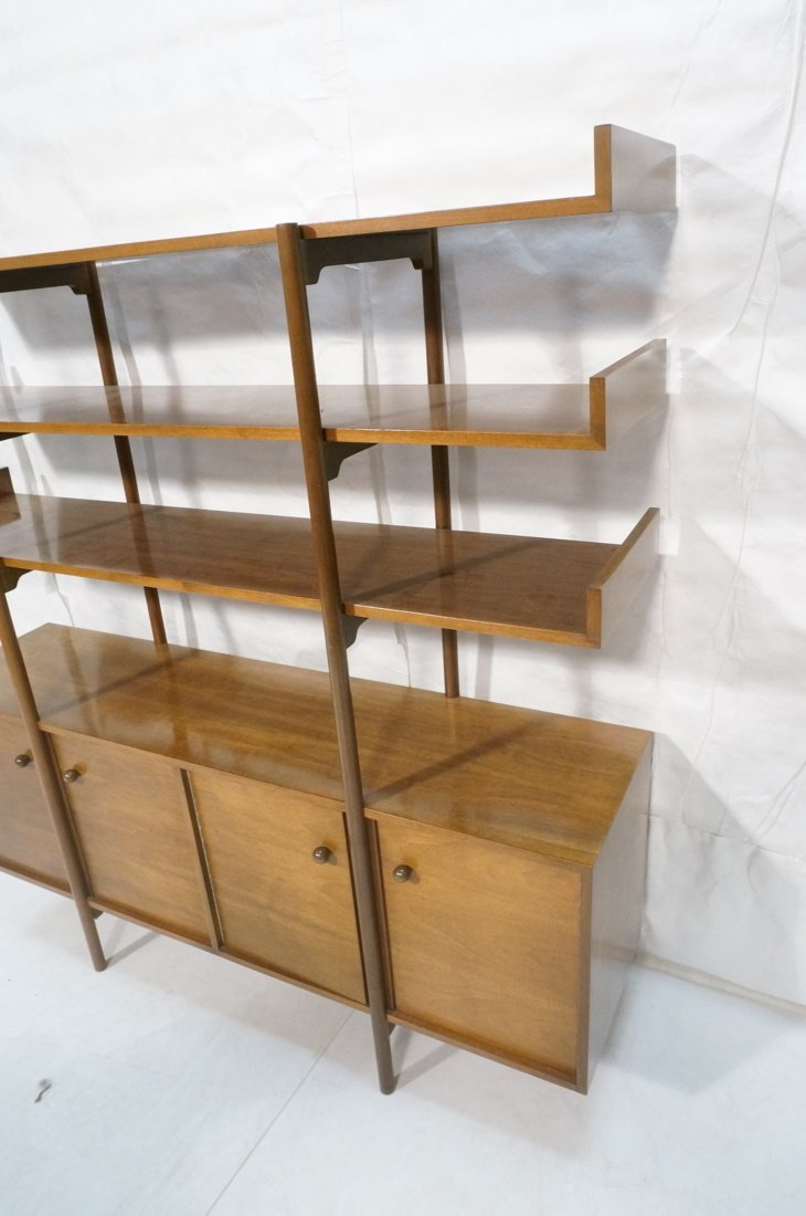 DUNBAR style Open Shelf Etagere Display Unit. Thr - 5