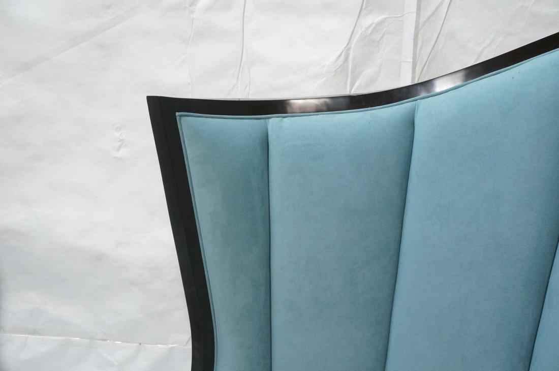 Pr Decorator Oversized Ebonized Chairs. Dramatic - 5