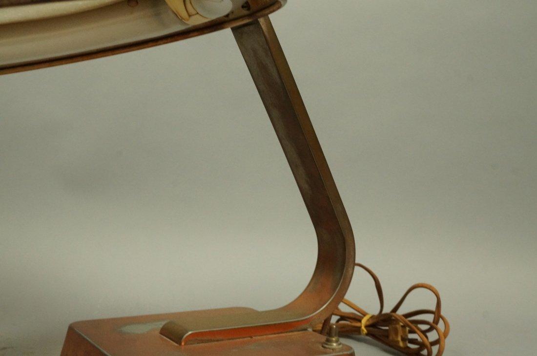 Art Deco Copper Finish Desk Lamp. Copper finish b - 3
