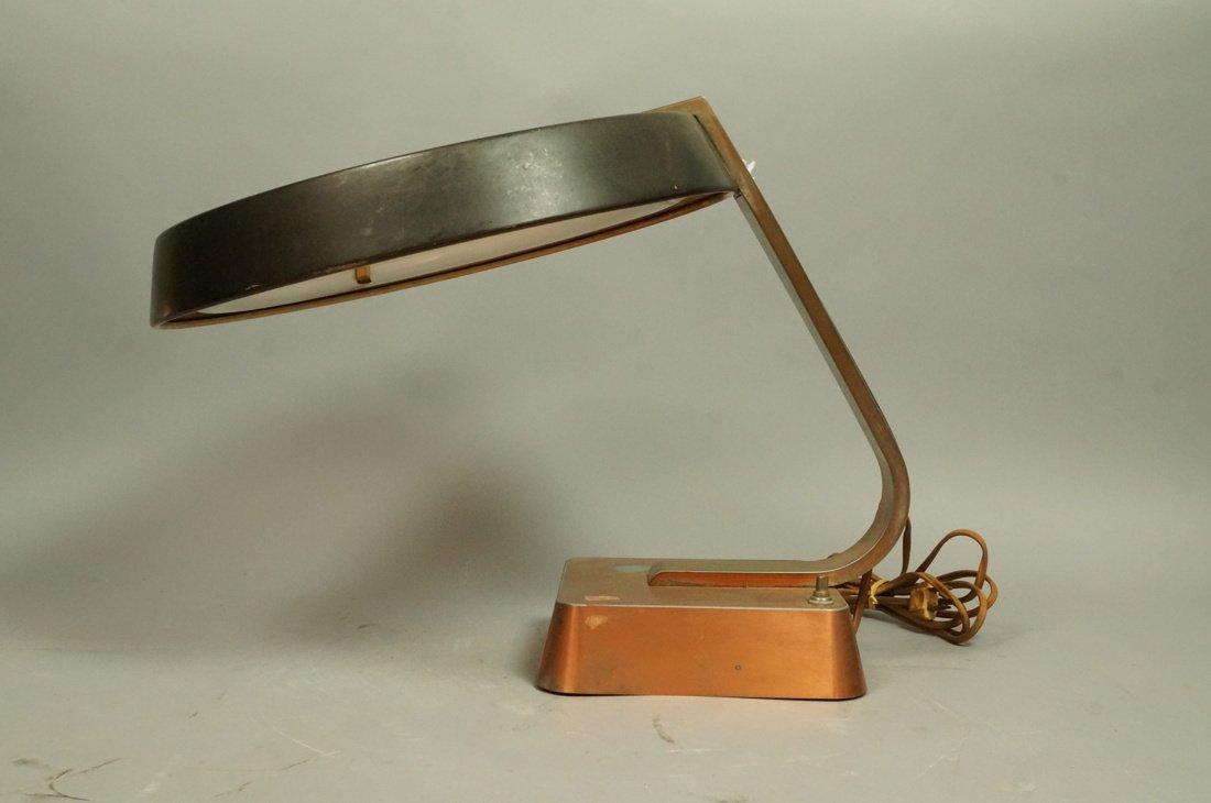 Art Deco Copper Finish Desk Lamp. Copper finish b - 5