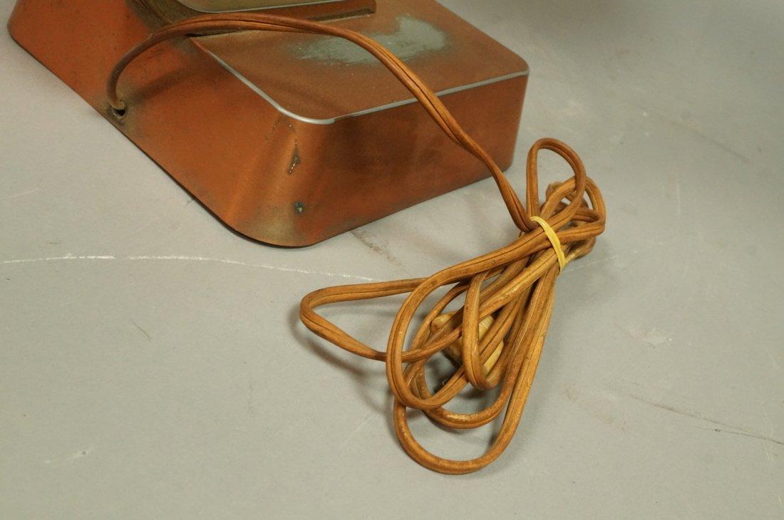 Art Deco Copper Finish Desk Lamp. Copper finish b - 7