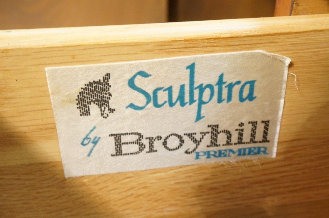 "BROYHILL ""SCULPTRA"" Three Drawer Two Door Credenz - 3"