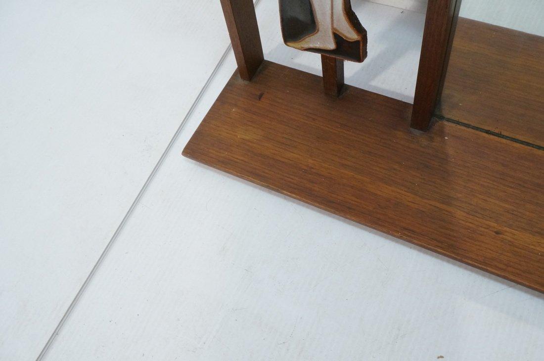 American Modern Wall Shelf Mirror. Harris Strong - 7