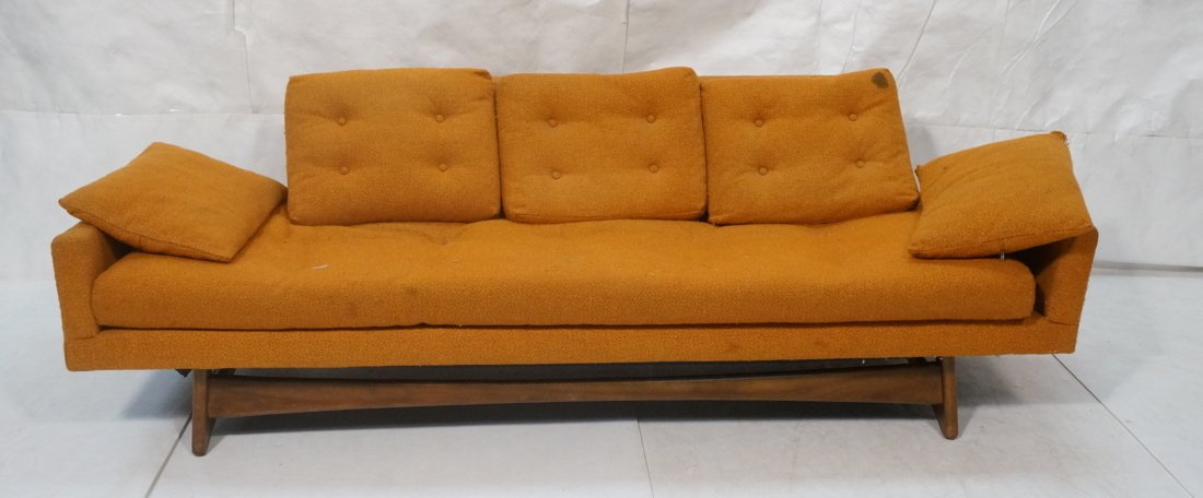 Orange ADRIAN PEARSALL Style Modernist Sofa Couch
