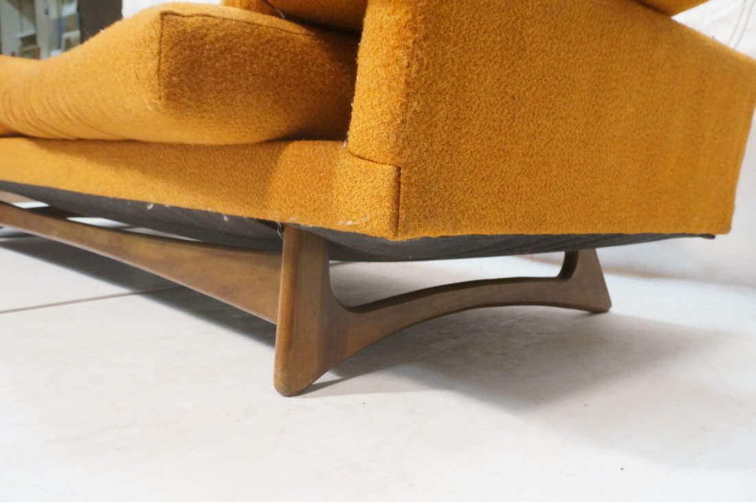 Orange ADRIAN PEARSALL Style Modernist Sofa Couch - 7