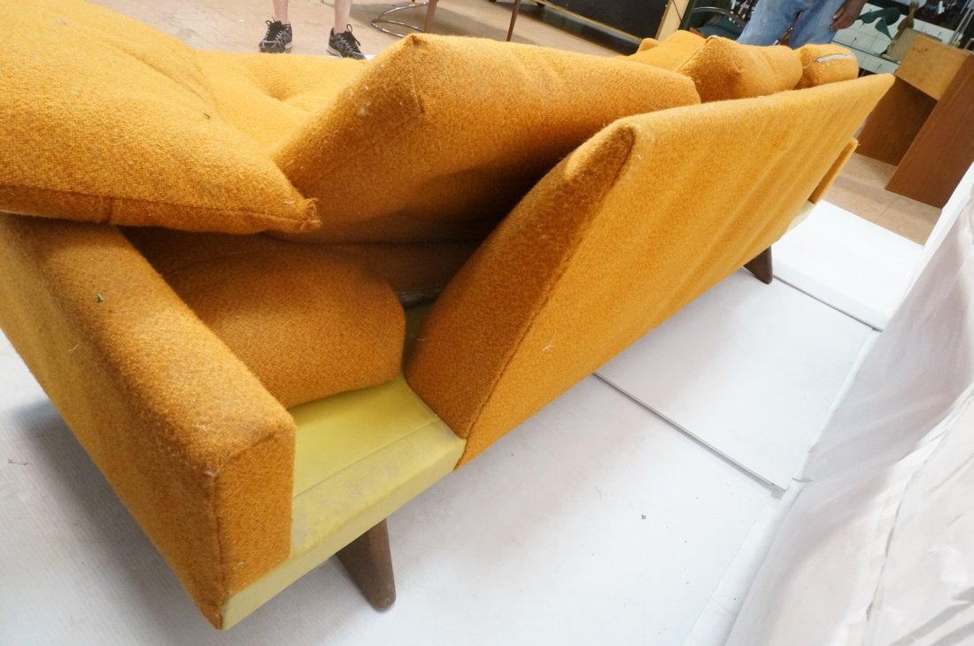 Orange ADRIAN PEARSALL Style Modernist Sofa Couch - 8