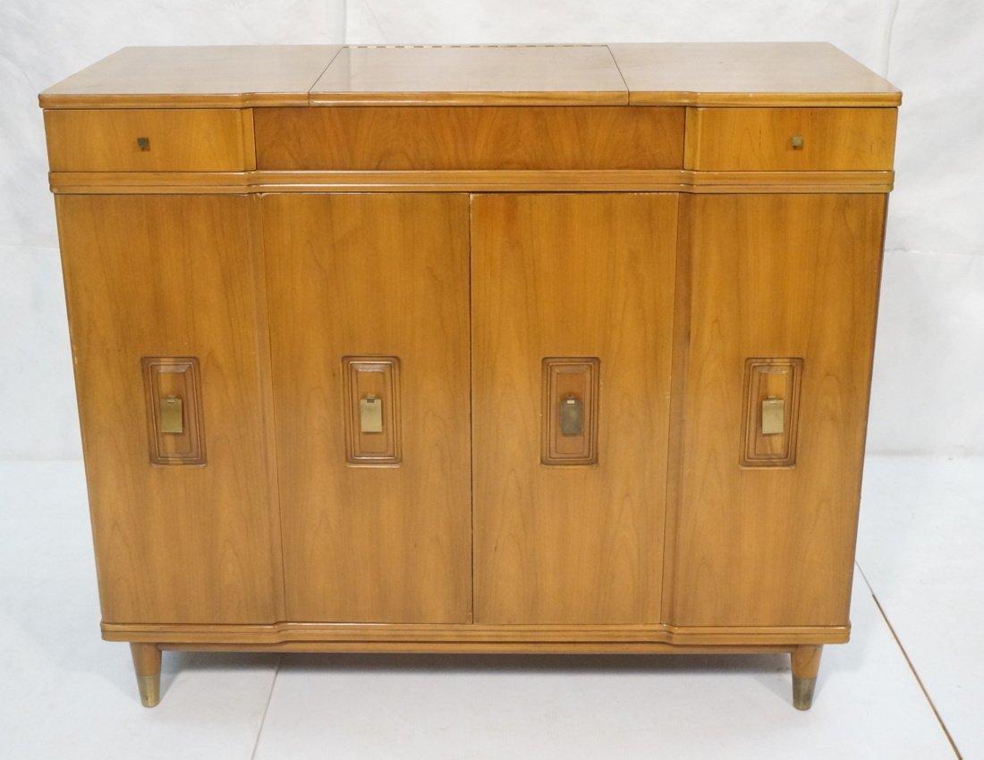 JOHN WIDDICOMB. Dresser with pop up Vanity Top. F
