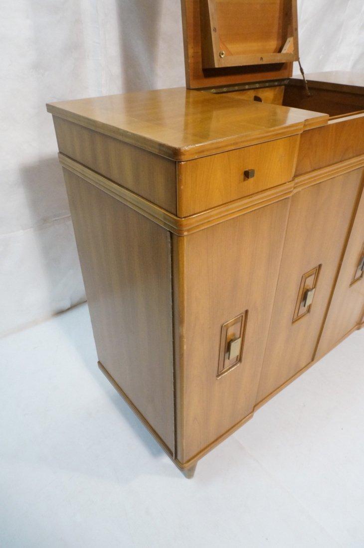 JOHN WIDDICOMB. Dresser with pop up Vanity Top. F - 4