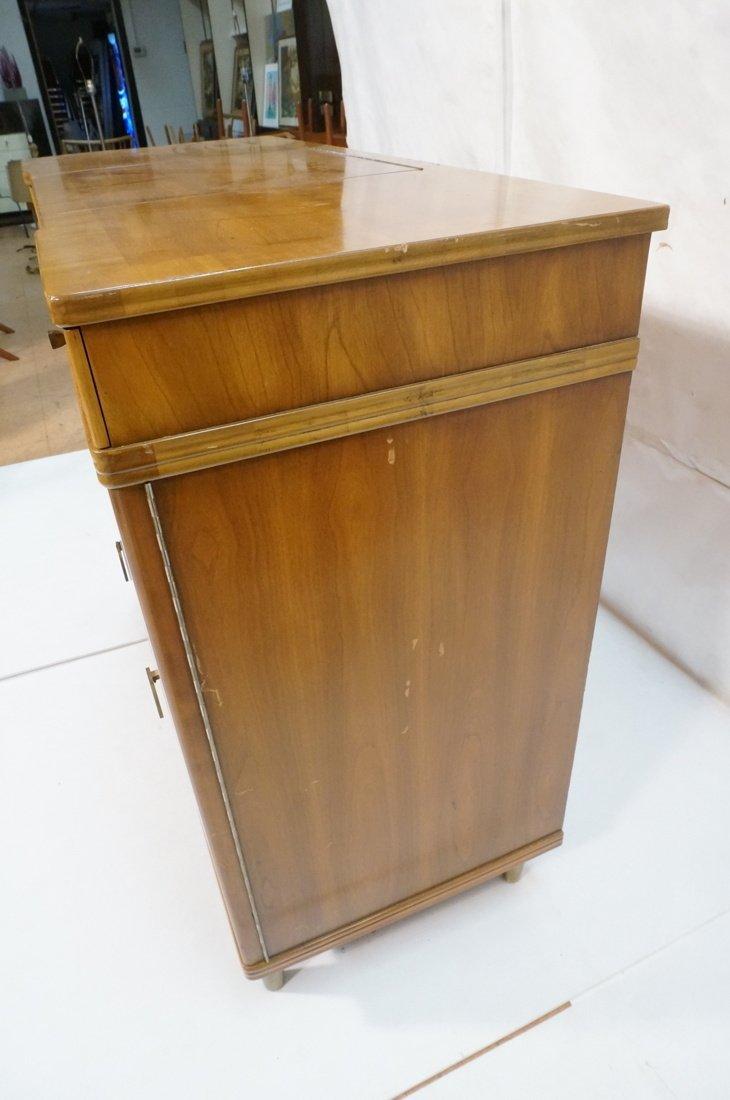 JOHN WIDDICOMB. Dresser with pop up Vanity Top. F - 5