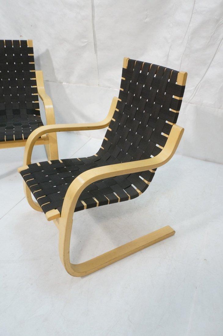 Pr ALVAR AALTO for ARTEK ICF Lounge Chairs. Lamin - 2