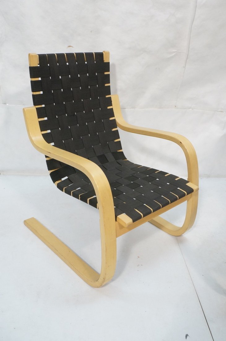 Pr ALVAR AALTO for ARTEK ICF Lounge Chairs. Lamin - 3