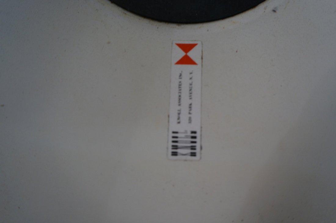 Set 4 KNOLL Eero SAARINEN Tulip Dining Chairs. Wh - 7