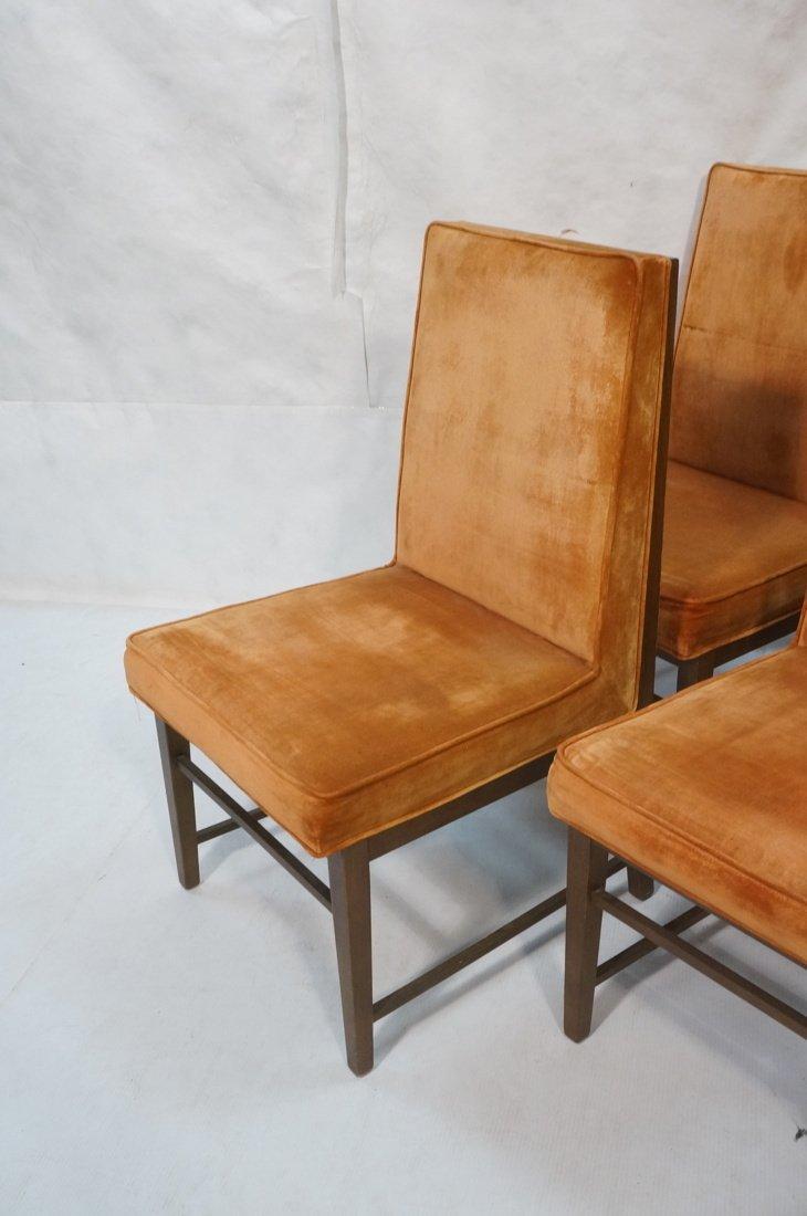 Set 6 Dunbar style Dining Chairs. Walnut frames a - 2