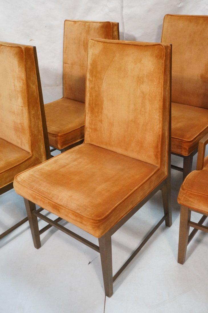 Set 6 Dunbar style Dining Chairs. Walnut frames a - 3