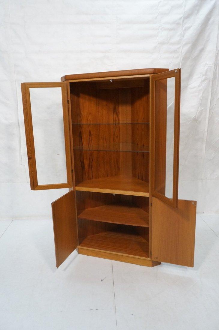 RASMUS Danish Teak Modern Corner Cabinet. Four Do - 2