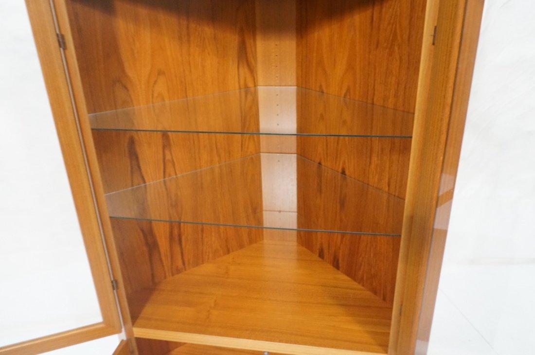 RASMUS Danish Teak Modern Corner Cabinet. Four Do - 3
