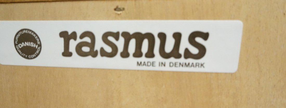 RASMUS Danish Teak Modern Corner Cabinet. Four Do - 5