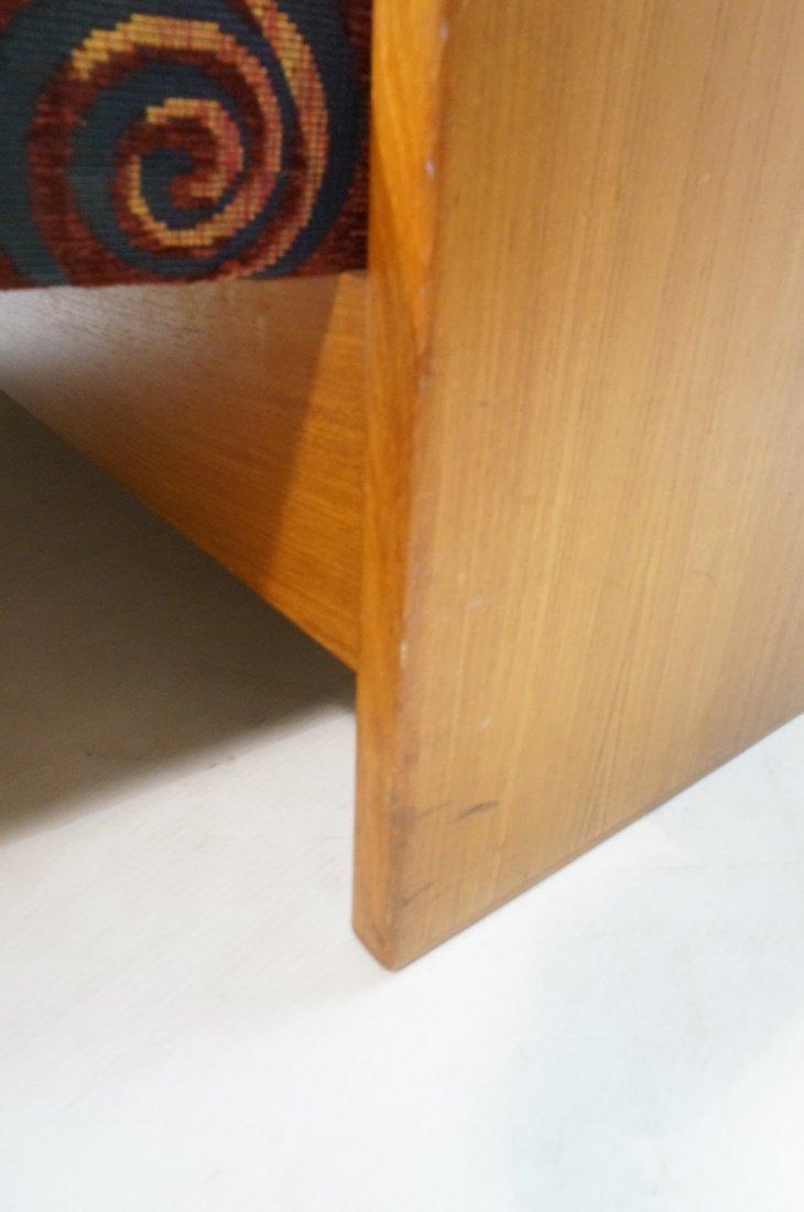 Teak Danish Modern Sofa Bed. Southwest fabric cus - 7