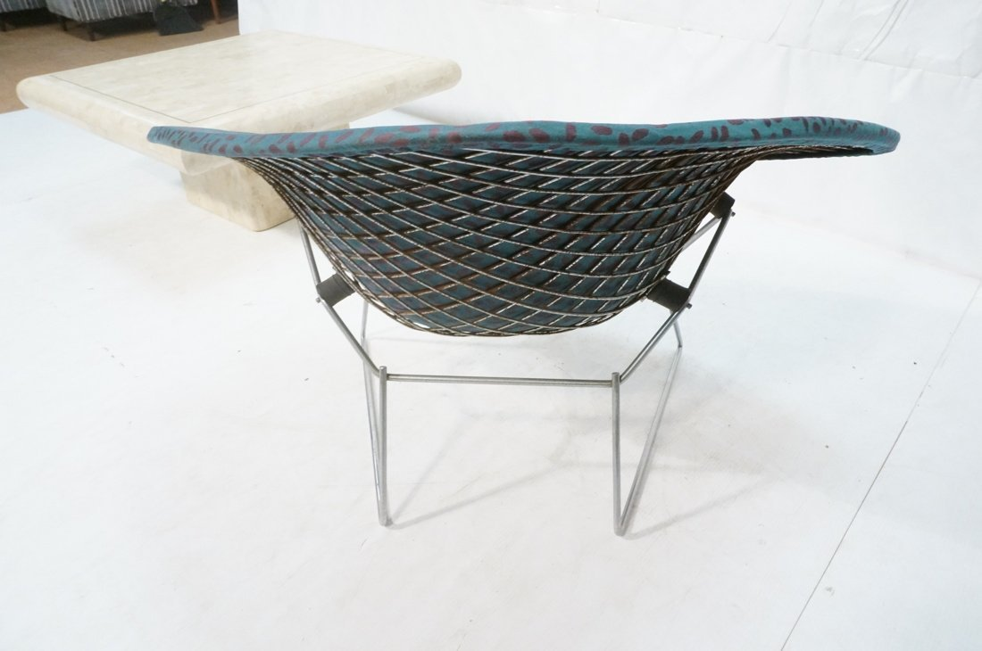 HARRY BERTOIA Diamond Lounge Chair. Chrome mesh f - 4