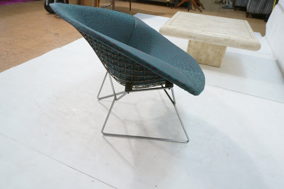 HARRY BERTOIA Diamond Lounge Chair. Chrome mesh f - 5