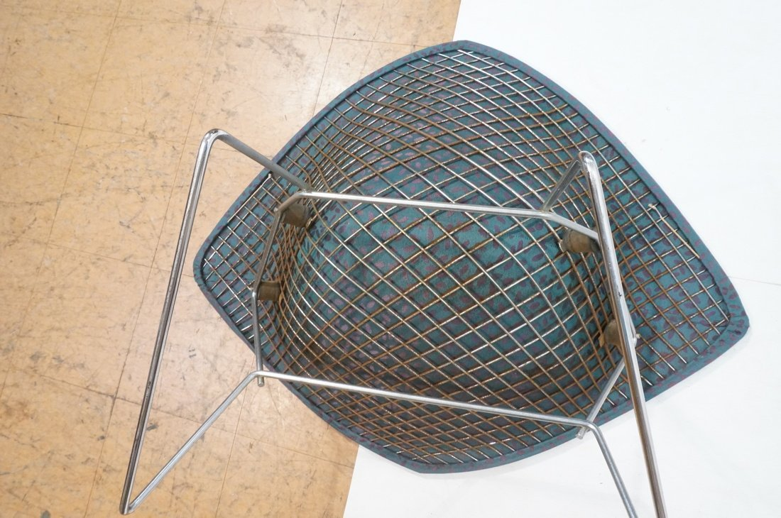 HARRY BERTOIA Diamond Lounge Chair. Chrome mesh f - 7