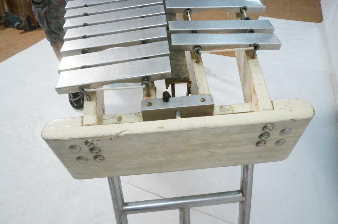 Jen C0. Aluminum oversized xylophone. Folding leg - 5