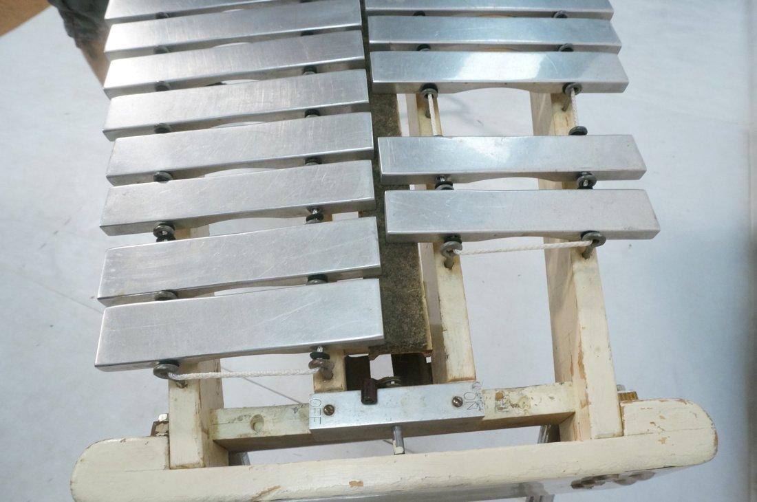 Jen C0. Aluminum oversized xylophone. Folding leg - 6