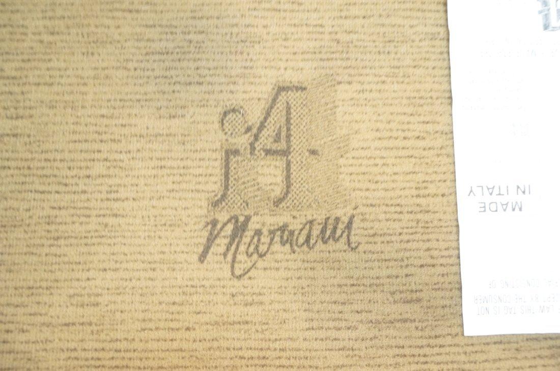 Pr Black Leather & Chrome MARANI Italy Lounge Cha - 10