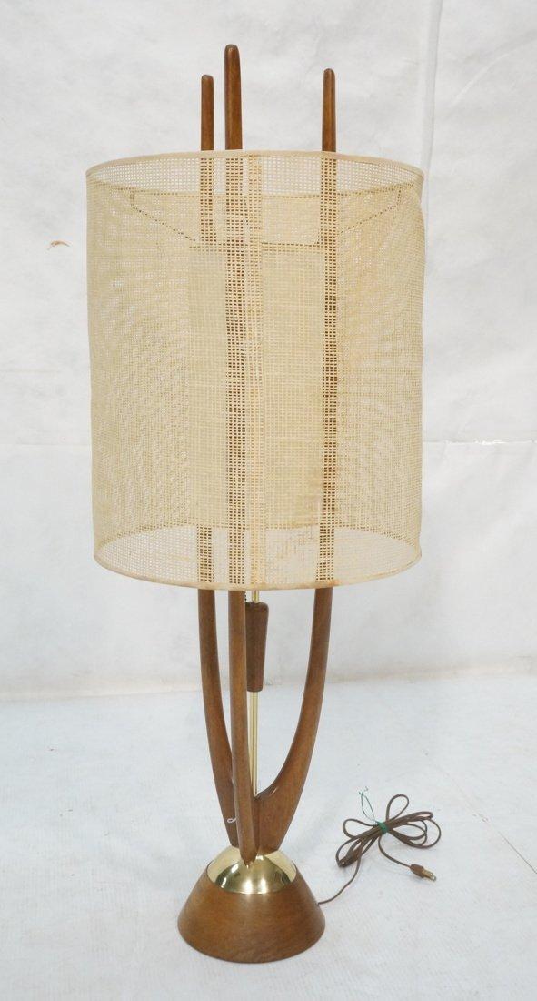 Adrian Pearsall Modernist Wood Three Arm Table La