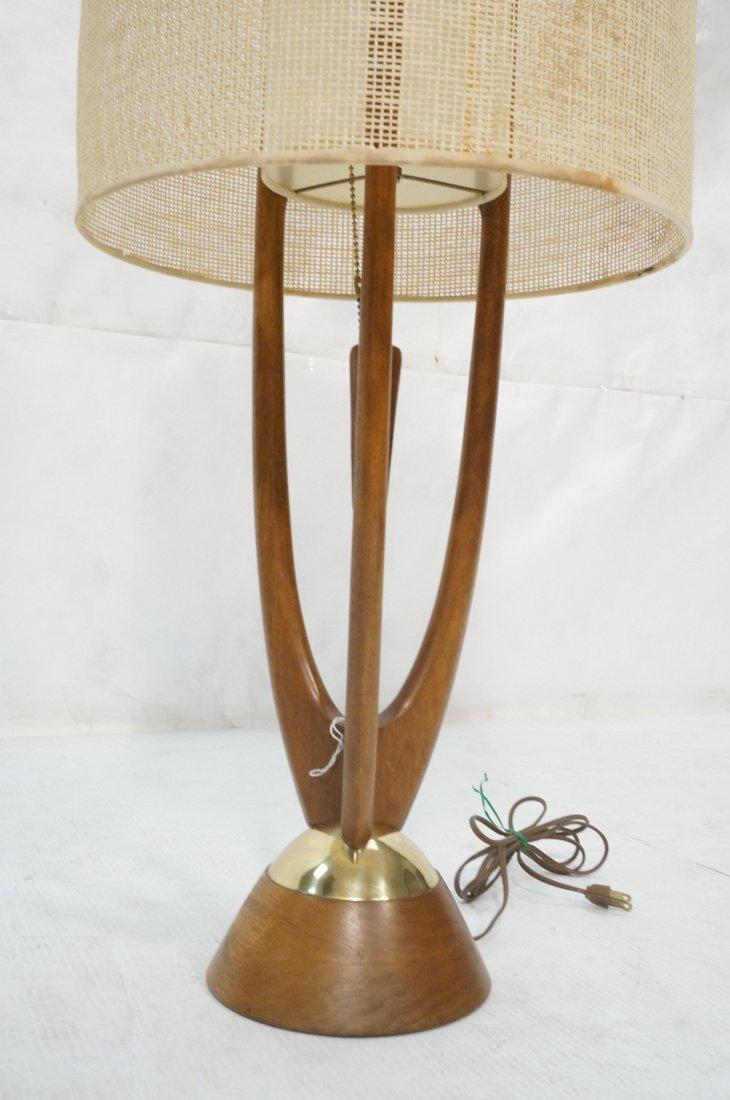 Adrian Pearsall Modernist Wood Three Arm Table La - 2