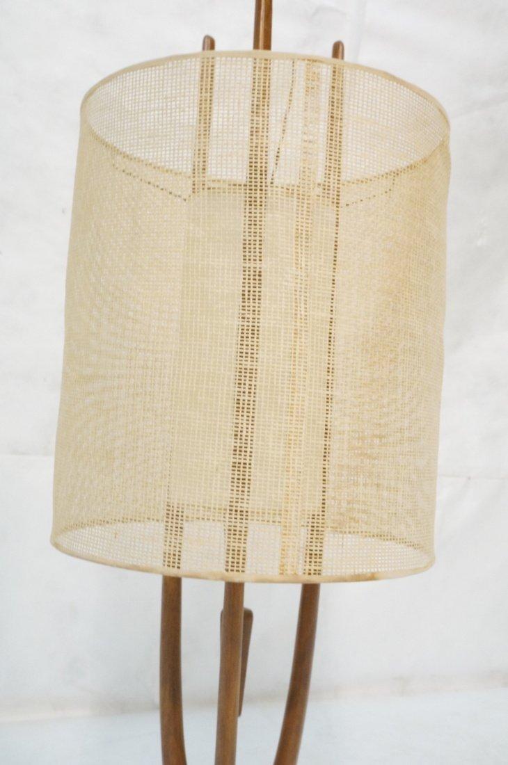 Adrian Pearsall Modernist Wood Three Arm Table La - 3