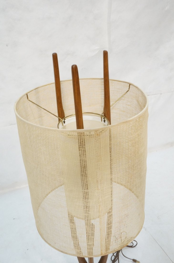 Adrian Pearsall Modernist Wood Three Arm Table La - 4