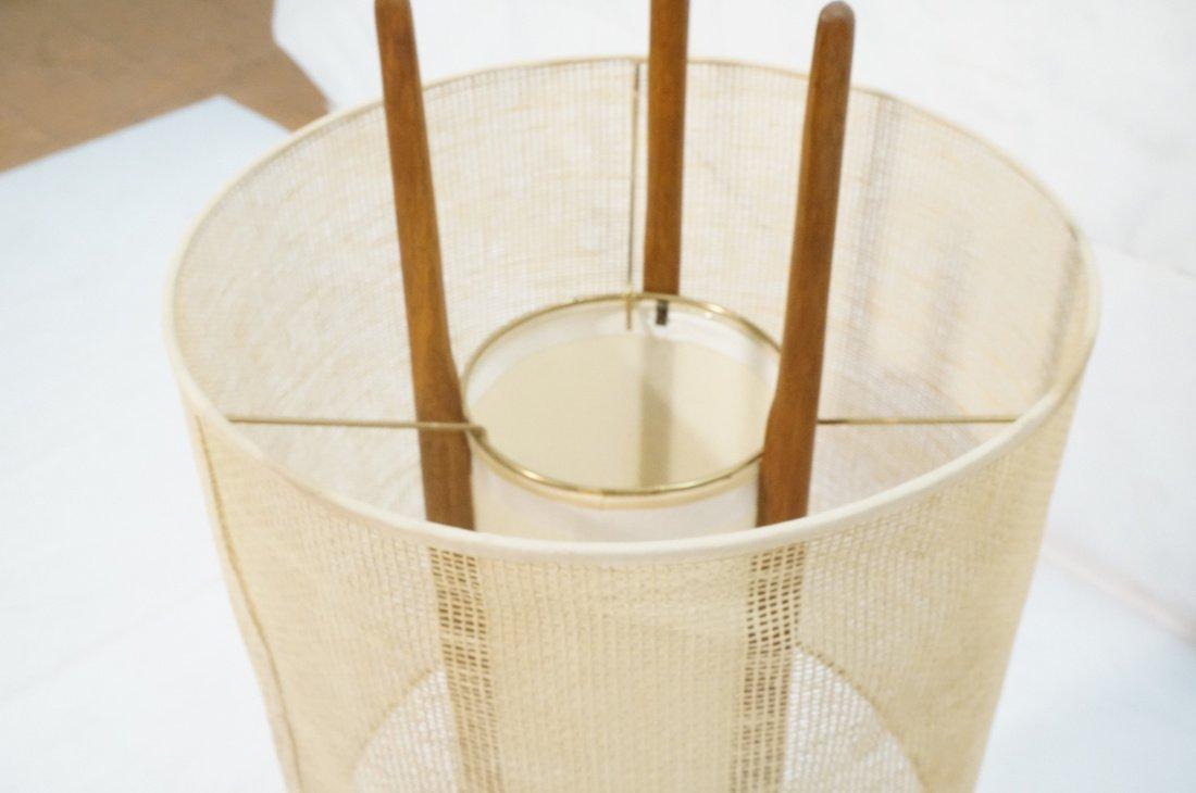 Adrian Pearsall Modernist Wood Three Arm Table La - 5