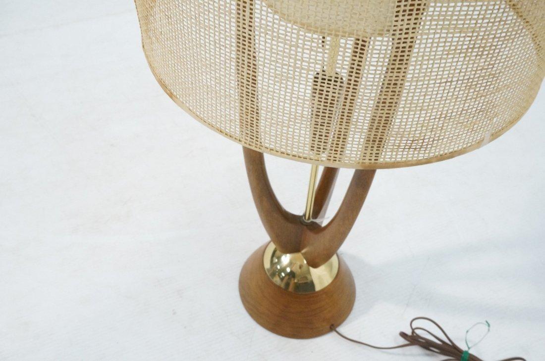 Adrian Pearsall Modernist Wood Three Arm Table La - 6