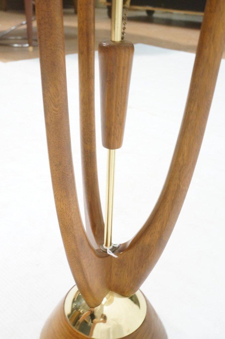 Adrian Pearsall Modernist Wood Three Arm Table La - 7