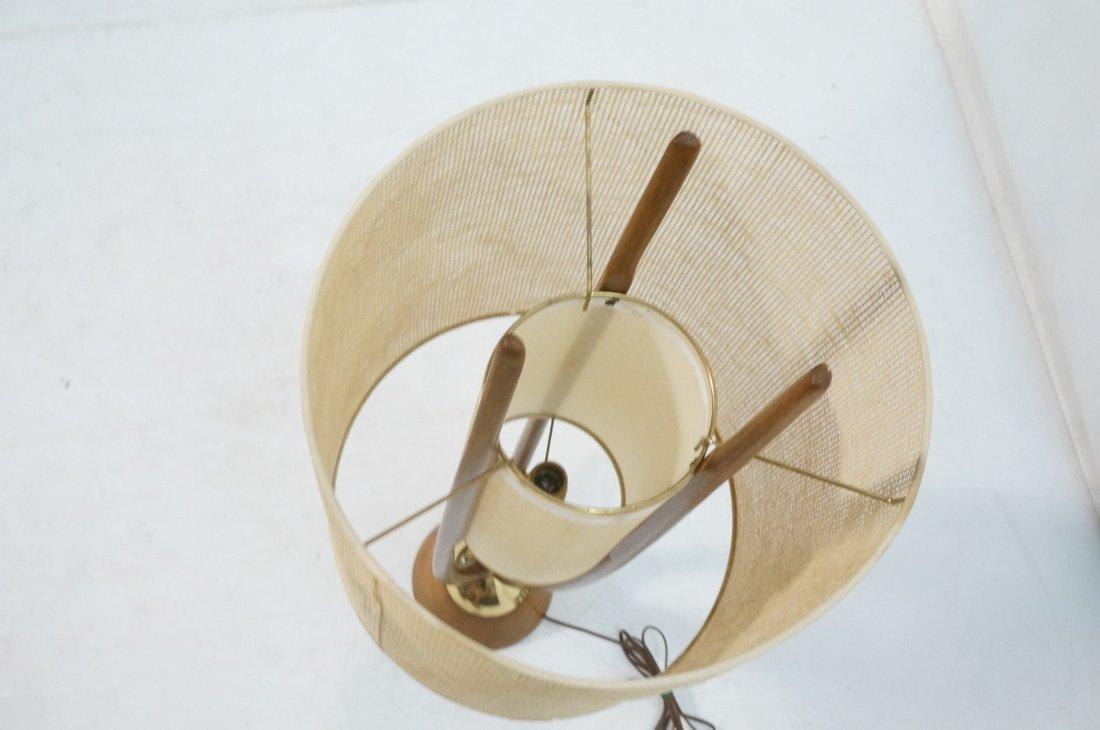 Adrian Pearsall Modernist Wood Three Arm Table La - 8