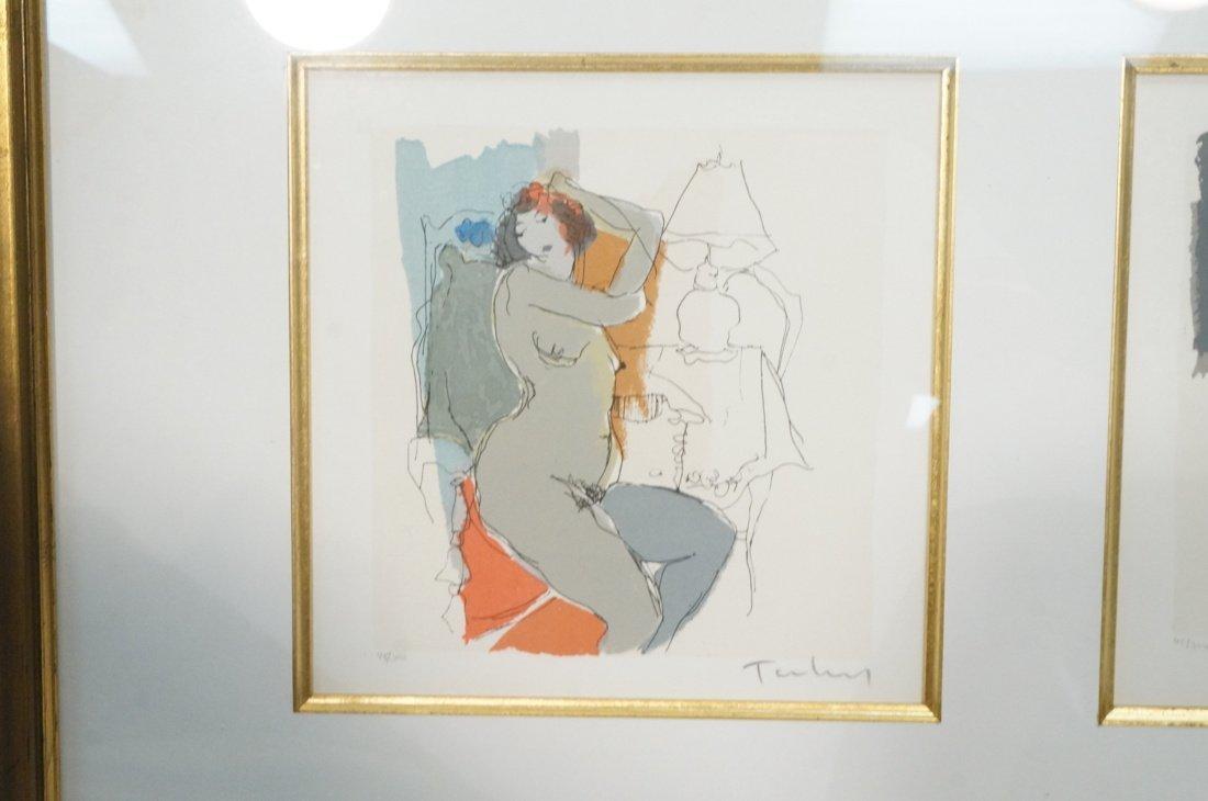 3 ITZCHAK TARKAY Prints. Nude Women. All pencil s - 2