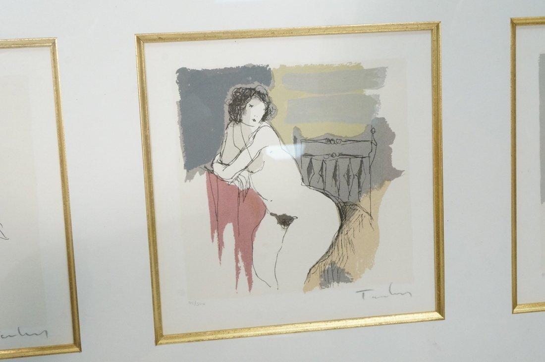 3 ITZCHAK TARKAY Prints. Nude Women. All pencil s - 3