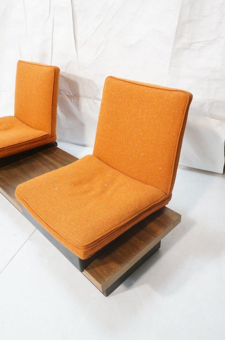 3pc  Modern Seating. Thayer Coggin Label. Two Lou - 2