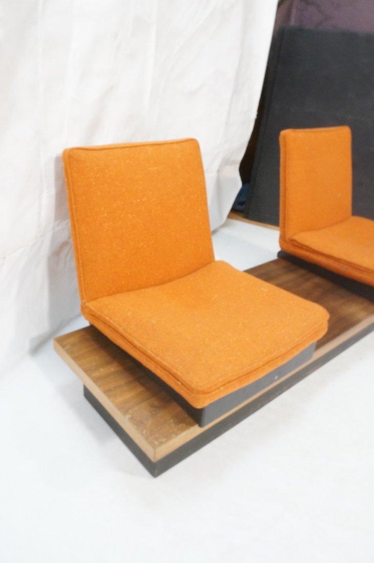 3pc  Modern Seating. Thayer Coggin Label. Two Lou - 4