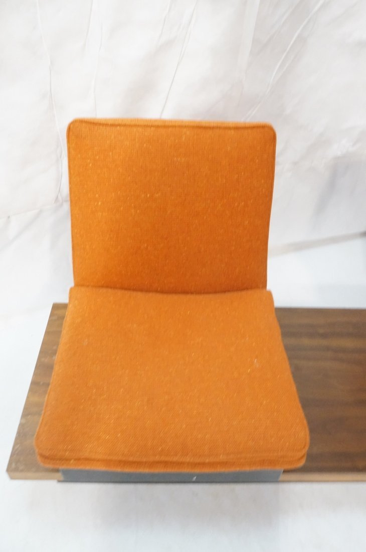 3pc  Modern Seating. Thayer Coggin Label. Two Lou - 5